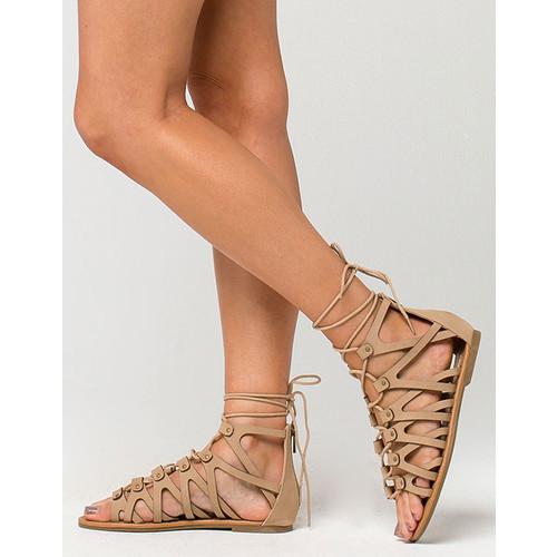 SODA Standings Womens Sandals