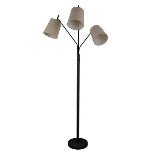 Essential Home 3 Head Lantern Floor Lamp