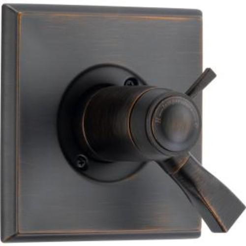 Delta Dryden TempAssure 17T Series 1-Handle Volume/Temp. Control Valve Trim Kit Only in Venetian Bronze (Valve Not Included)