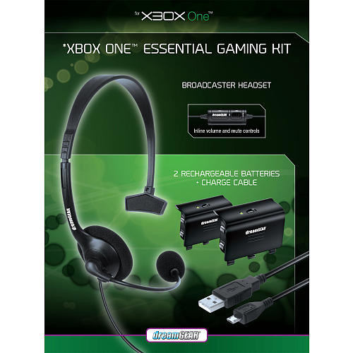 dreamGEAR Essential Gaming Kit for Xbox One