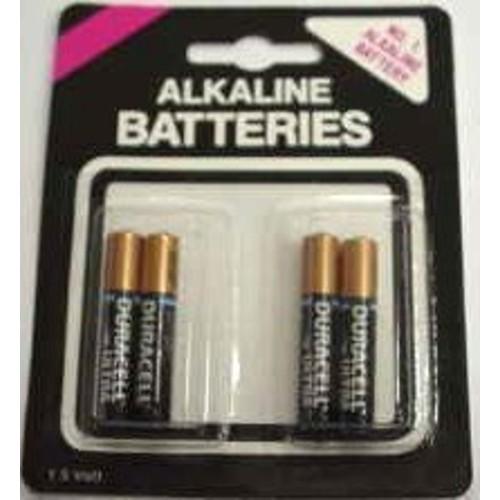 AAA Duracell Alkaline Batteries (pack of 4)