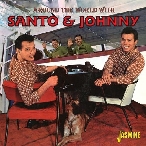 Around the World with Santo & Johnny [CD]