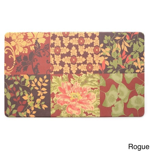 Stephan Roberts Anti-fatigue Kitchen Mat (30 inches x 18 inches) [option : Sunflower]