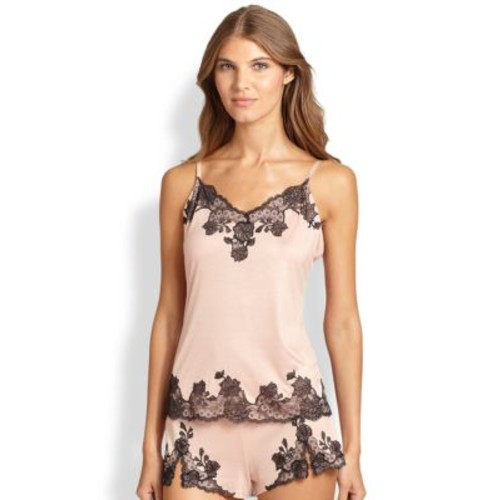 Charlize Lace Embroidered Cami