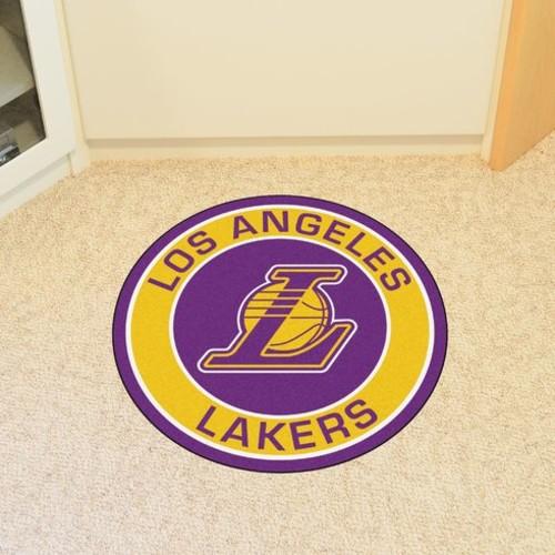 NBA Los Angeles Lakers Roundel Mat