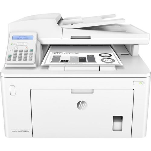 HP - LaserJet Pro MFP M227fdn Black-and-White All-In-One Laser Printer