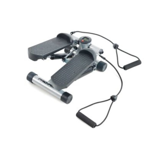ProForm Mini Stepper with Resistance Cords in Black