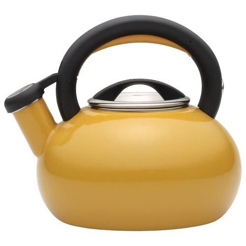 Circulon - Sunrise 1.5-Quart Tea Kettle - Mustard Yellow