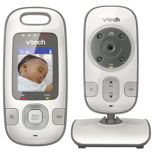 VTech - Safe&Sound Baby Monitor - White/Silver