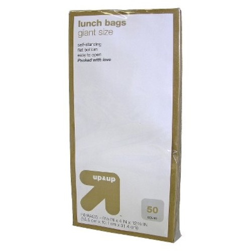 Giant Size Lunch Bags - 50ct - up & up