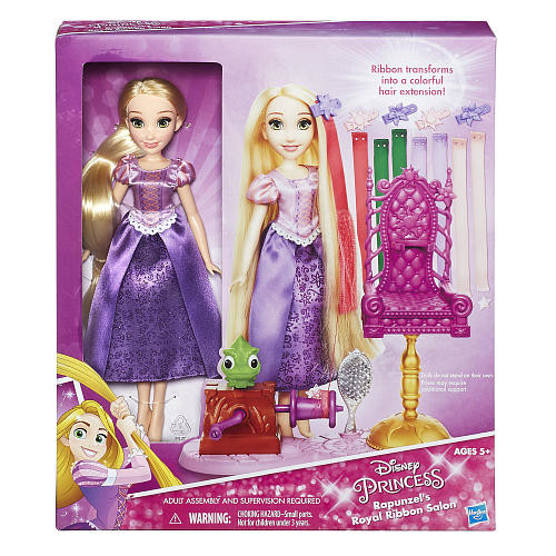 Disney Princess Rapunzel's Royal Ribbon Salon Playset