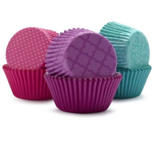 Wilton Pink and Turquoise Bake Cups, 150 Count