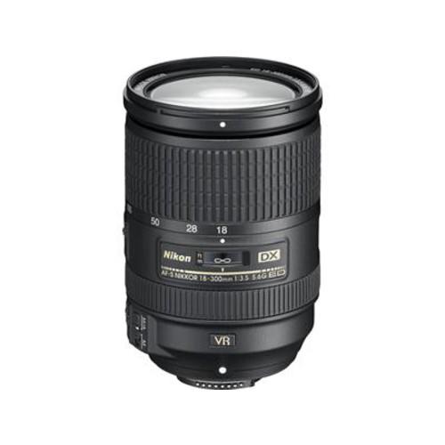 Nikon AF-S DX Nikkor 18-300mm f/3.5-5.6G ED VR Zoom lens for DX format Nikon DSLR cameras