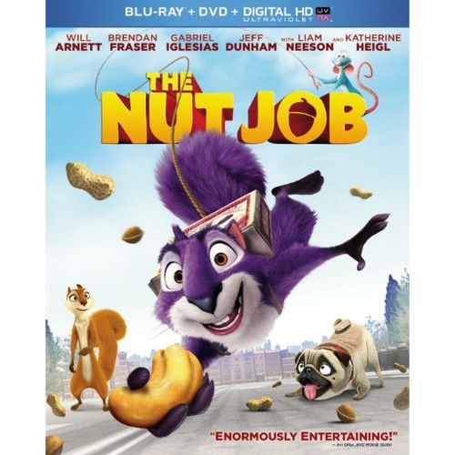 The Nut Job (Blu-ray + DVD + Digital Copy)