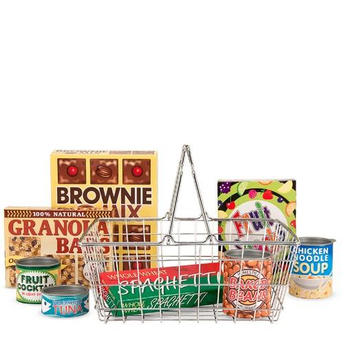 Melissa \u0026 Doug Let's Play House! Grocery Basket