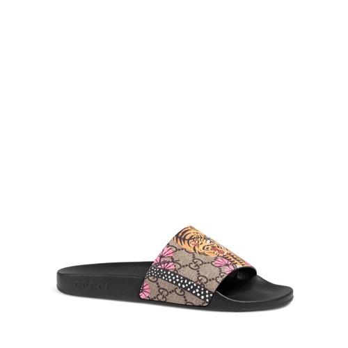 GUCCI Pursuit Bengal Pool Slide Sandals