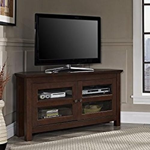 Walker Edison Corner TV Stand for TVs up to 48