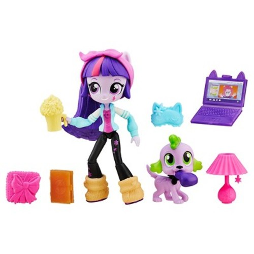 My Little Pony Equestria Girls' Minis Twilight Sparkle Slumber Party Set