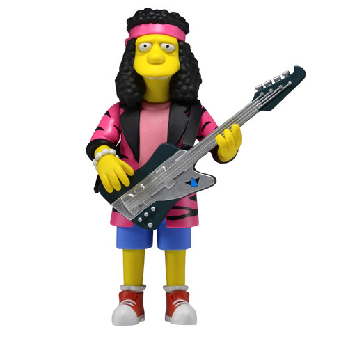 Simpsons 25th Anniversary - 5 Inch Figure - Series 4 - Otto Mann (Rock Camp Otto)
