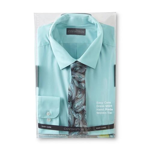 Men's Dress Shirt & Necktie