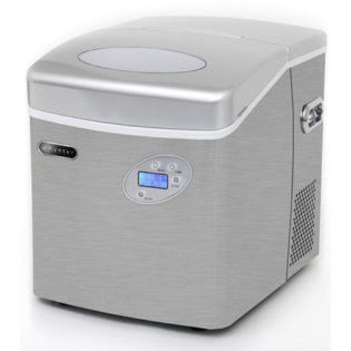 Whynter Portable Stainless Steel Ice Maker with Water Connection by Whynter