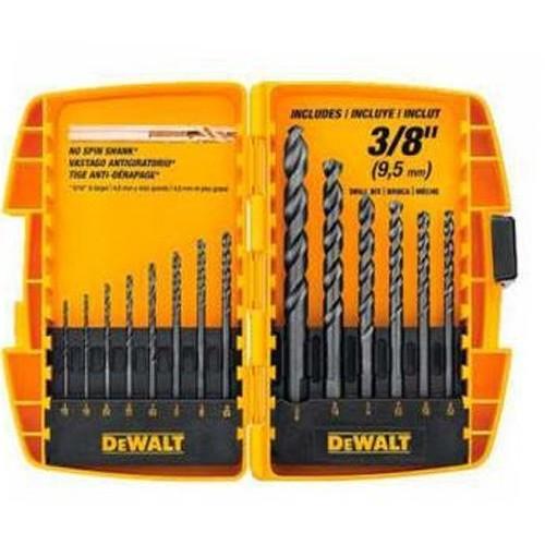 DEWALT DW1162 14-Piece Black Oxide Drill Bit Set