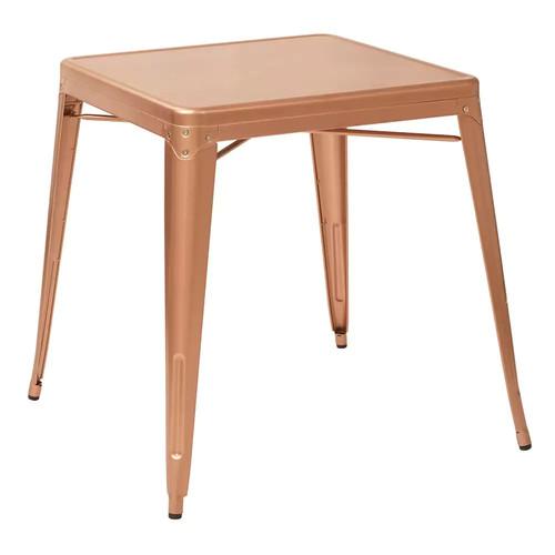 OSP Designs Bristow Antique Metal Table