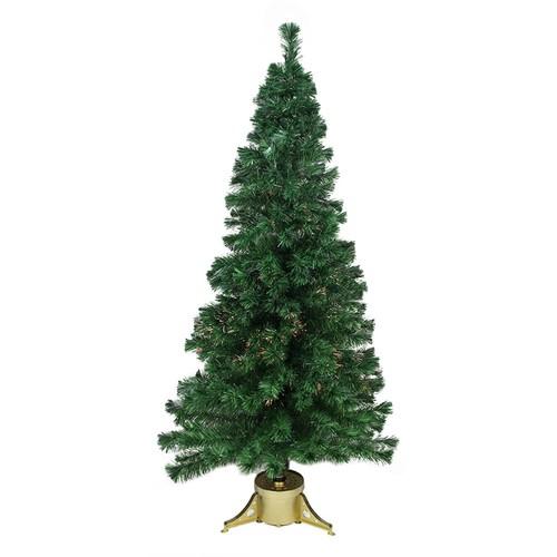 7-ft. Pre-Lit Color-Changing Fiber Optic Artificial Christmas Tree