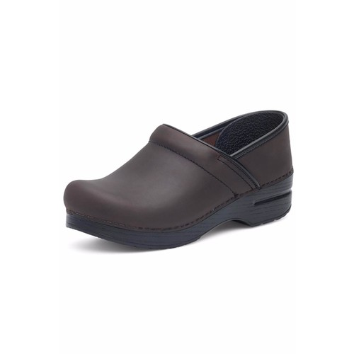 Brown Leather Clog