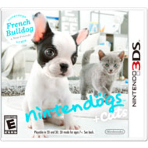 nintendogs + cats: French Bulldog and New Friends [Pre-Owned]