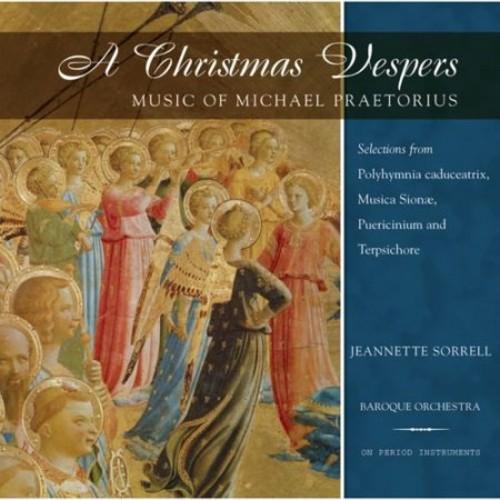 Christmas Vespers: Music of Michael Praetorius [CD]
