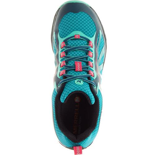 MERRELL Women's Siren Edge Hiking Shoes, Blue