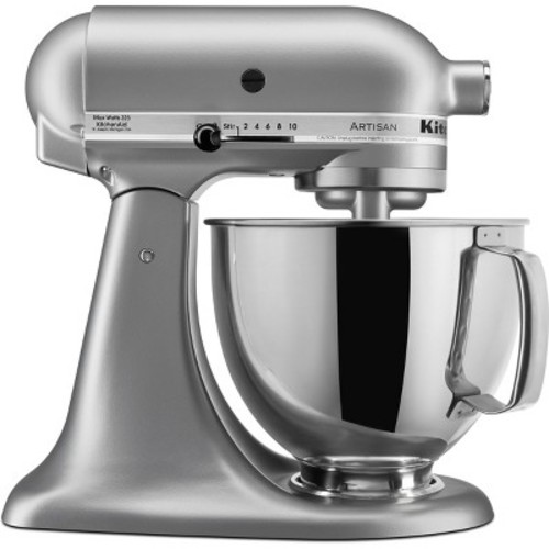Artisan Series 5 qt. Stand Mixer in Silver Metallic-DISCONTINUED