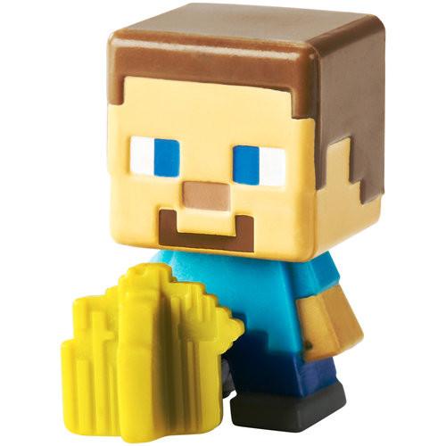 Minecraft Mini Figure 3Pk Farming Steve, Spawning Spider and Slime Cubes