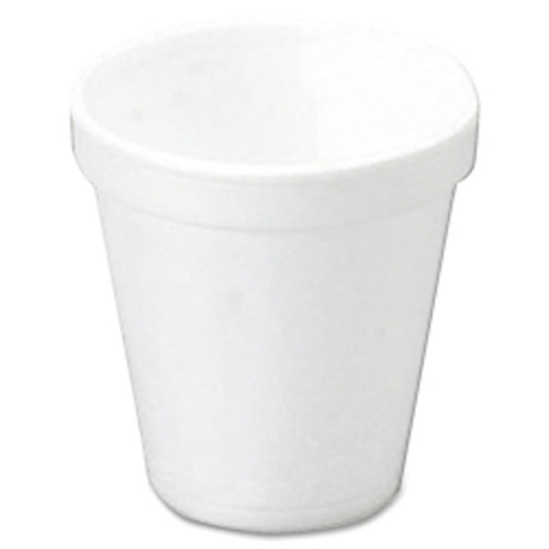 Dart Insulated Styrofoam Drinking Cups, White, 10 Oz, Box Of 1000