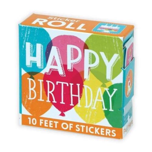 Happy Birthday Sticker Roll