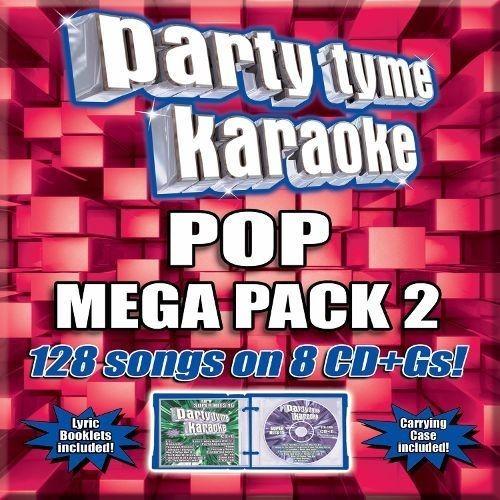 Party Tyme Karaoke - Pop Mega Pack 2 [8 CD] [CD + G]