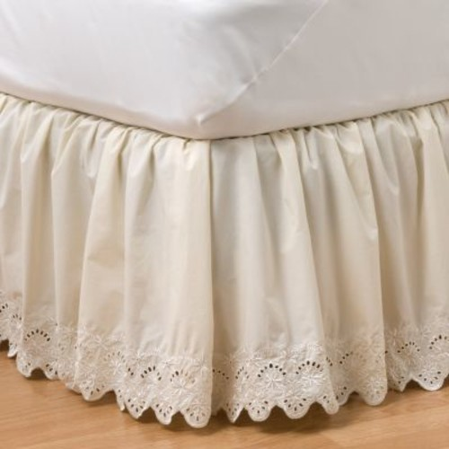 Home Classics Eyelet Bedskirt - King
