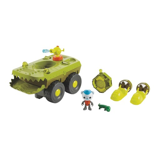 Fisher-Price Octonauts Remote Control Gup-K Vehicle and Playset