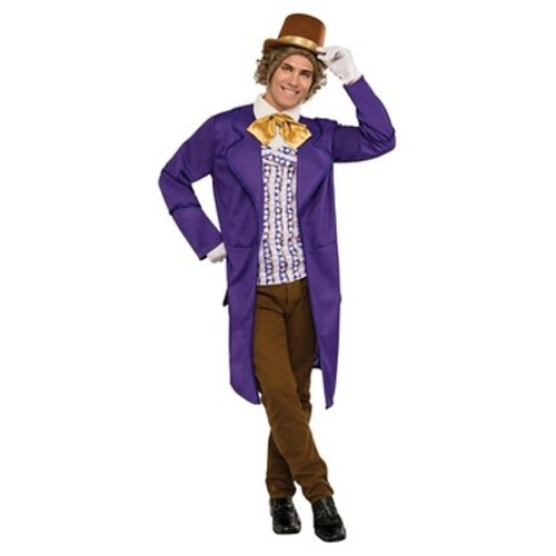 Adult Willy Wonka & the Chocolate Factory Willy Wonka Deluxe Costume