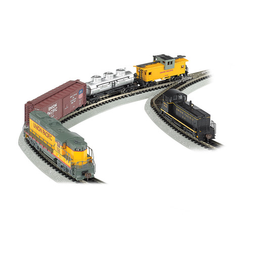 Bachmann Trains Golden Spike N Scale Ready to Run Electric Train Set with Digital Command Control