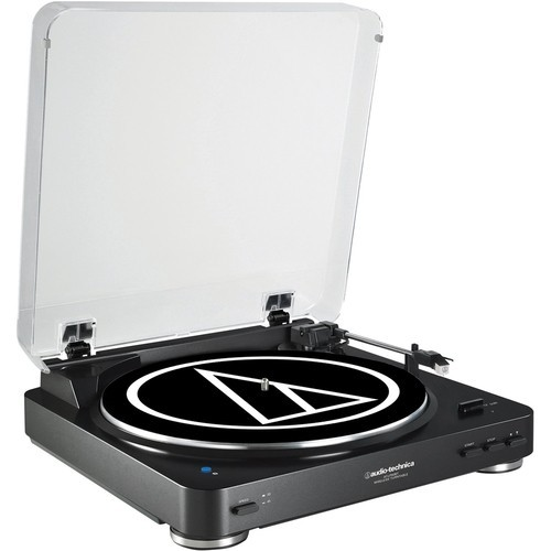 Audio-Technica - Bluetooth Stereo Turntable - Black