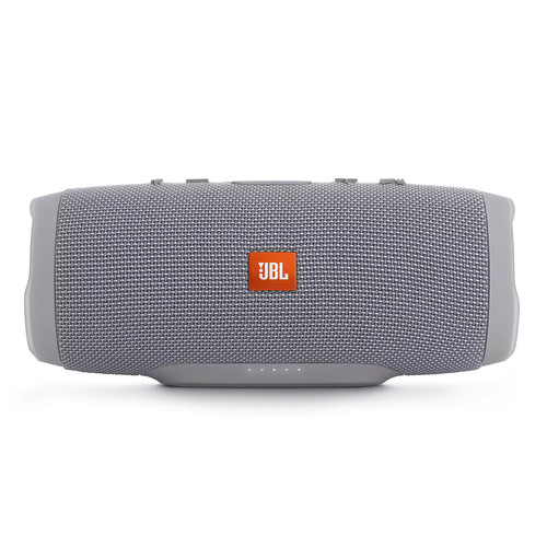 JBL - Charge 3 Portable Bluetooth Speaker - Gray