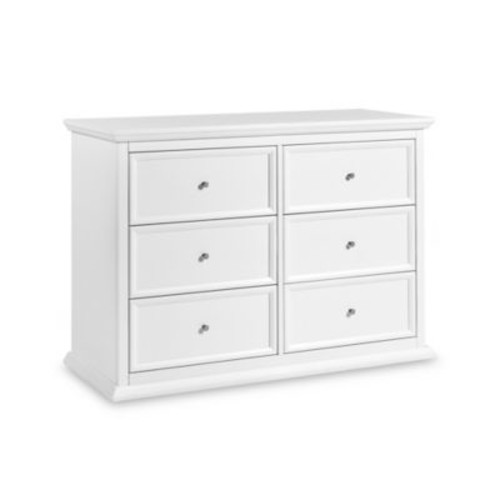Million Dollar Baby Classic Foothill-Louis 6-Drawer Changer Dresser in White