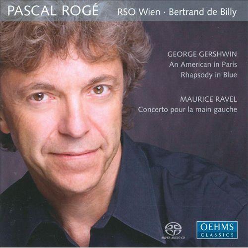 Gershwin: An American in Paris; Rhapsody in Blue; Ravel: Concerto pour la main gauche [Super Audio Hybrid CD]