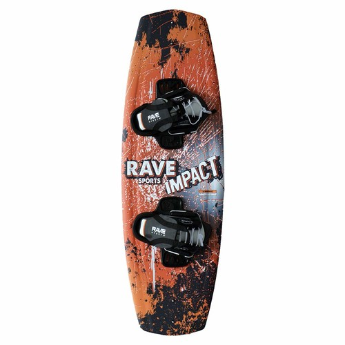 Rave Jr. Impact Wakeboard with Charger Bindings - 122 cm. [122 cm.]