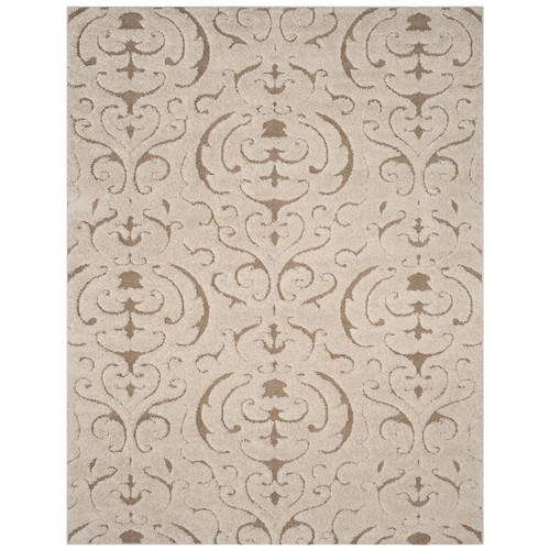 Safavieh Florida Shag Cream/Beige 8 ft. x 10 ft. Area Rug