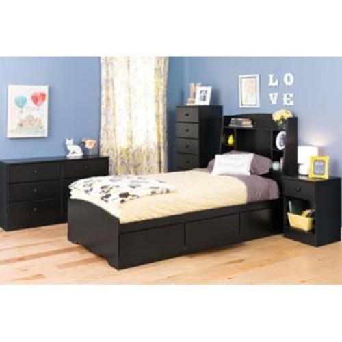 Prepac Astrid 6-Drawer Dresser Black