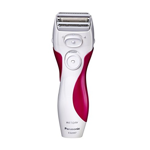 Panasonic ES2207P Ladies Electric Shaver, 3-Blade Cordless Womens Electric Razor with Pop-Up Trimmer, Use Wet or Dry