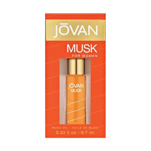 Jovan Musk for Women Oil, 0.33 fluid oz